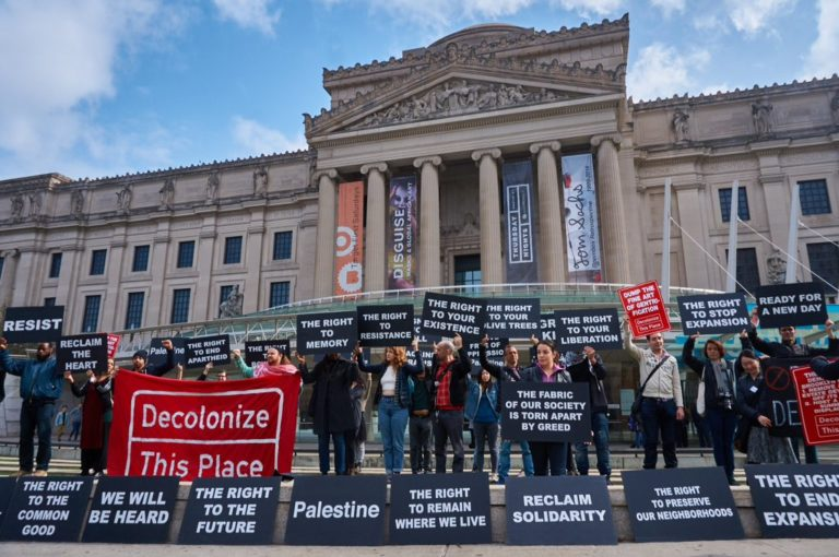 museums social justice protest companies