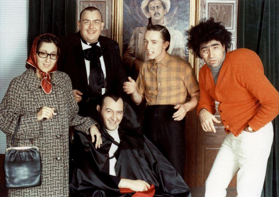 Original cast members of SCTV. Courtesy of The Star.