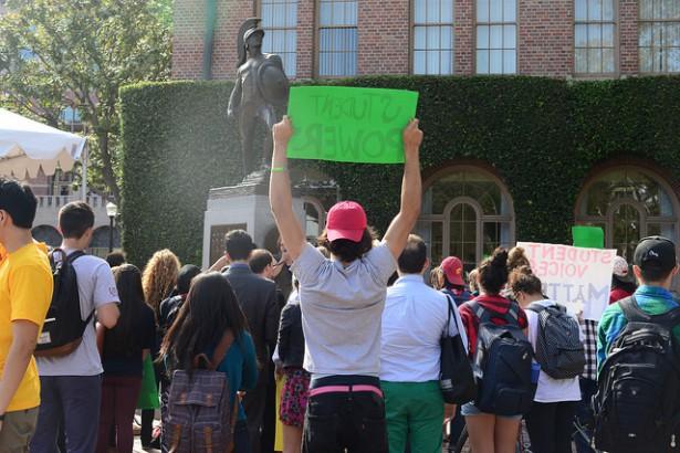 MFA College Protest Dropout